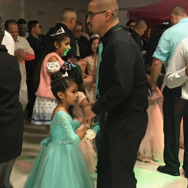 This princess and her father spend a spectacular night together at the father daughter dance!