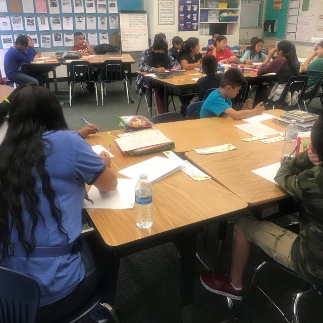 After school collaborative group studying with AVID makes it easier for students to grasp concepts and finish homework quicker.